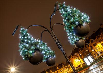 Aarschot straatverlichting kerstboom warmlicht - 2