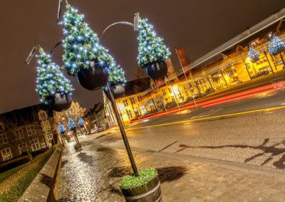 Aarschot straatverlichting kerstboom warmlicht - 4