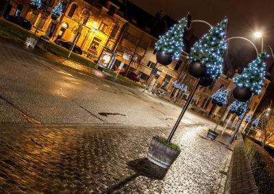 Aarschot straatverlichting kerstboom warmlicht - 5