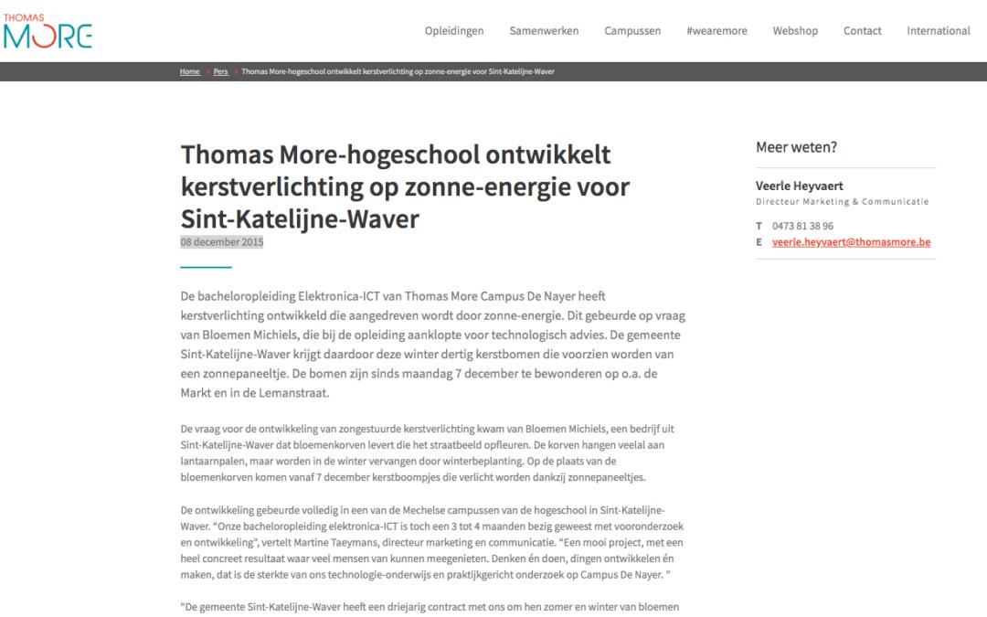 Thomas More 8/12/2015